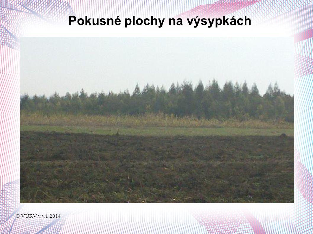 © VÚRV,v.v.i. 2014 Obtížné obdělávaní některých ploch