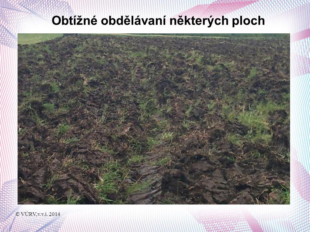 © VÚRV,v.v.i. 2014 Pohled na pokusné plochy po sklizni