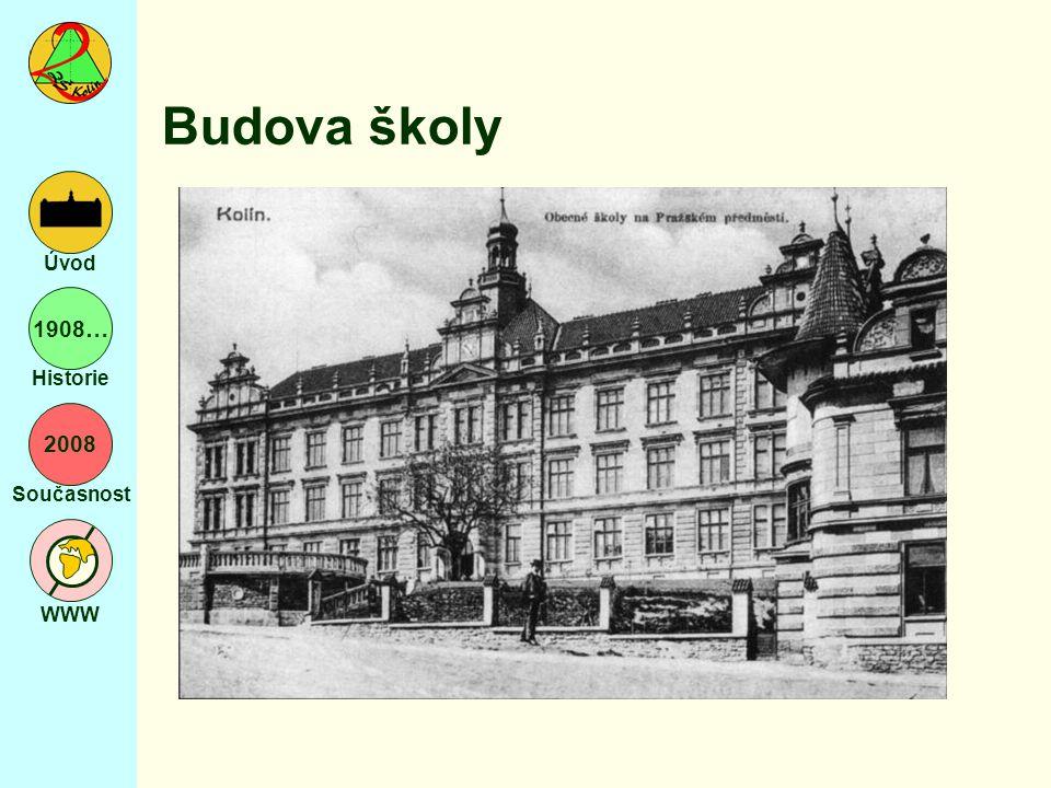 2008 Současnost WWW Úvod 1908… Historie Exkurze do Mnichova více textu