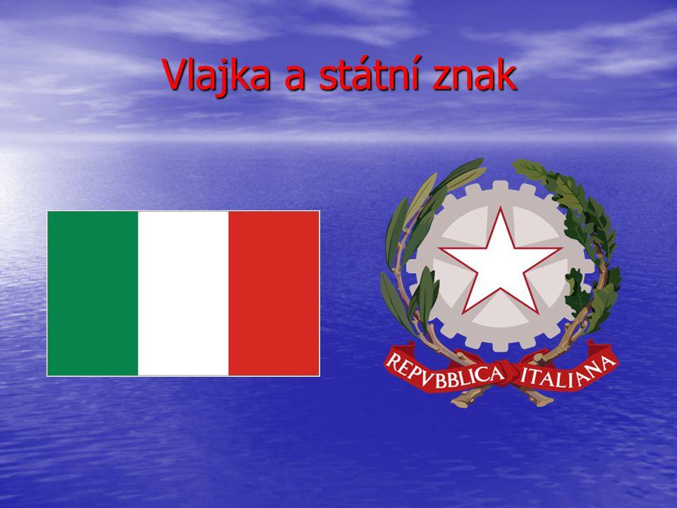 Hlavní město: Řím(Roma) Rozloha: 301 203 km² Počet obyvatel:asi 57 715 625 Měna: Euro Doprava:letadlem,autem,autobusem Sporty: F1,fotbal Jazyk:Italština Zajímavosti:Na severu hraničí s Francií,Švýcarskem Rakouskem a Slovinskem.Uvnitř Itálie leží dva městské státy: Vatikán a San Marino.