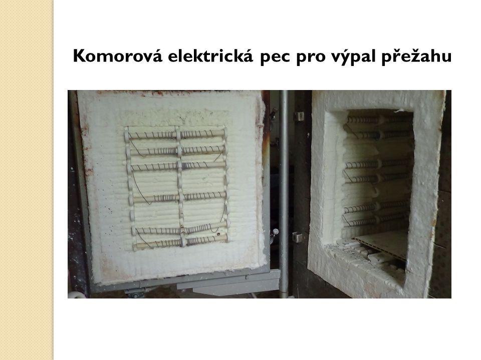 Komorová elektrická pec pro výpal přežahu