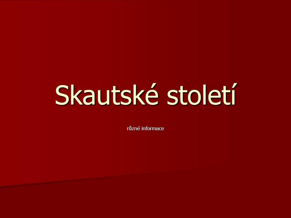 Skautská výstava 21.3.– 24.6. Muzeum hl. m. Prahy 21.3.