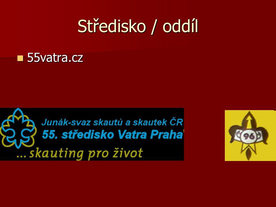 Středisko / oddíl 55vatra.cz 55vatra.cz