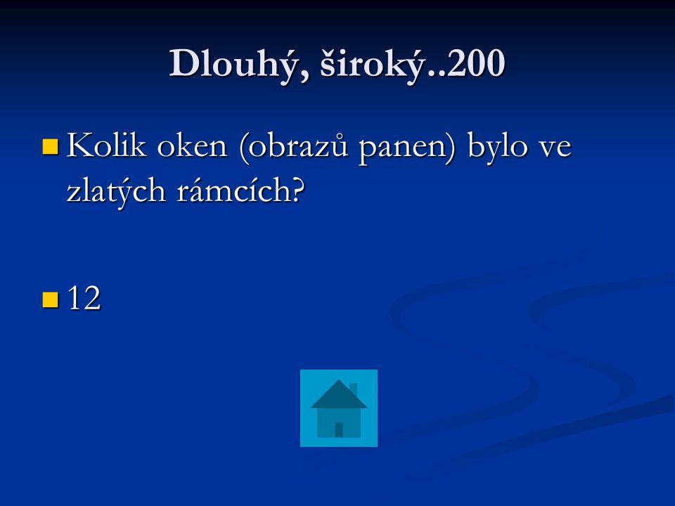 Otesánek 100 Jaké přání měli muž a žena z pohádky.