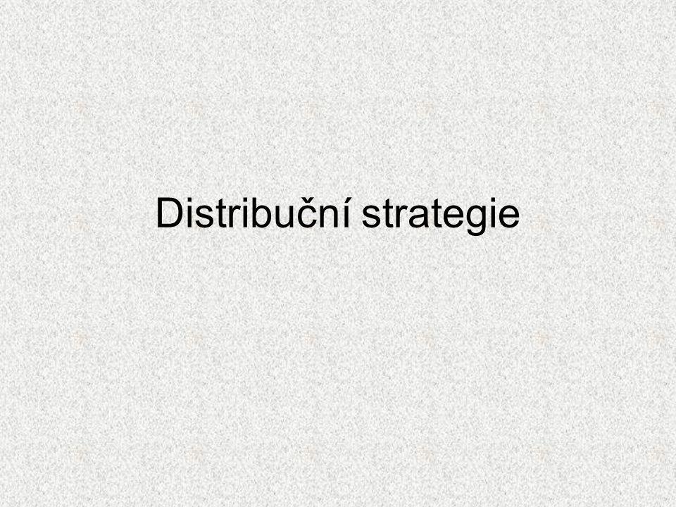 Distribuční strategie
