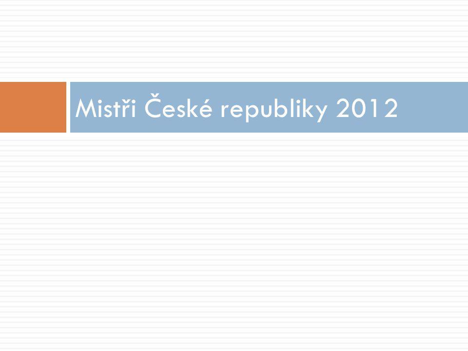 Mistři České republiky 2012