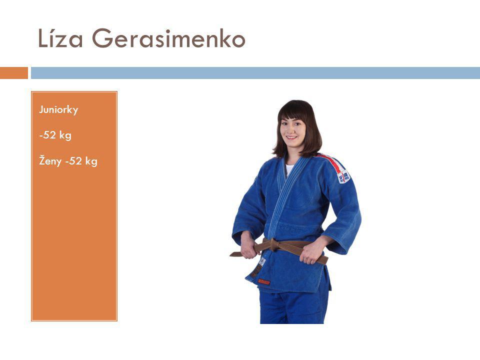 Líza Gerasimenko Juniorky -52 kg Ženy -52 kg