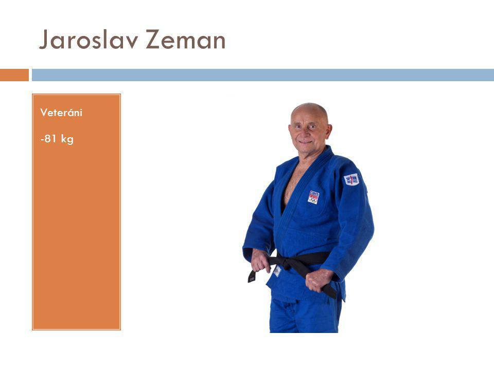 Jaroslav Zeman Veteráni -81 kg