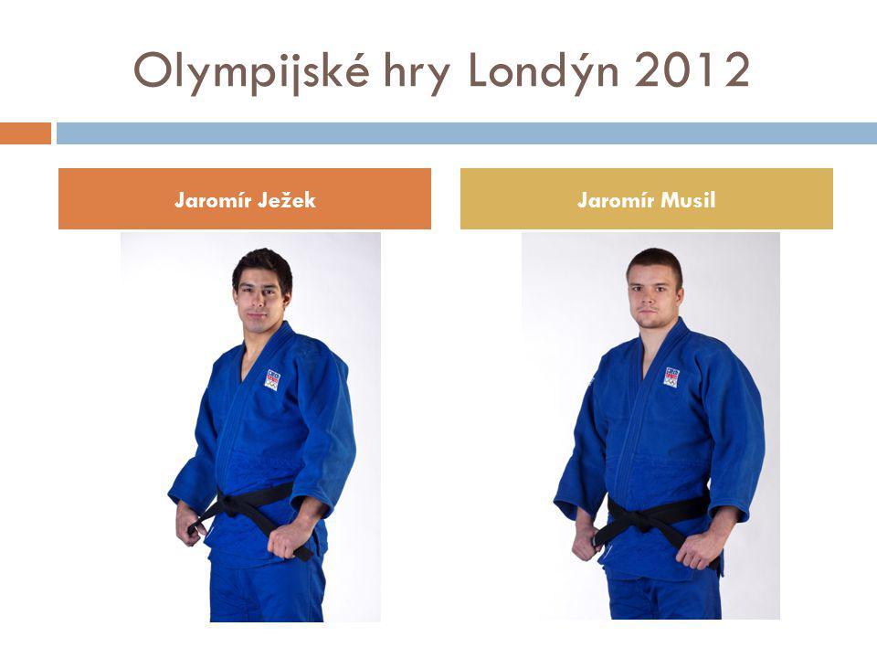 Olympijské hry Londýn 2012 Jaromír JežekJaromír Musil