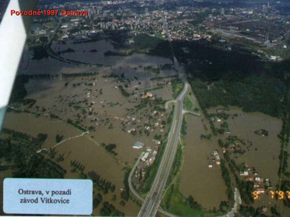 Povodně 1997 Ostrava