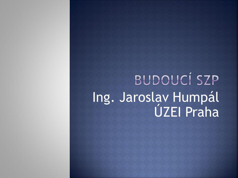 Ing. Jaroslav Humpál ÚZEI Praha