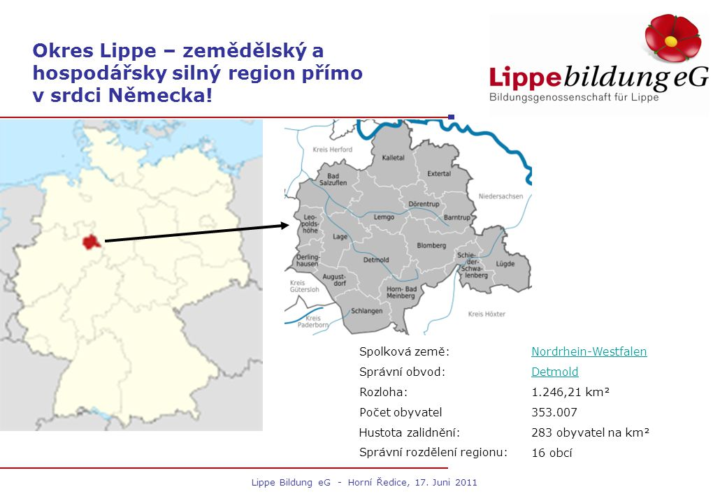 Lippe Bildung eG - Horní Ředice, 17.