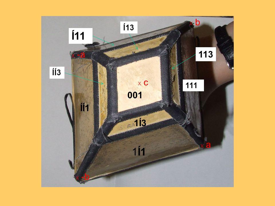 X c X a X -a X b X -b 111 1Í1 113 1Í3 001 ÍÍ3 Í13 ÍÍ1 Í11