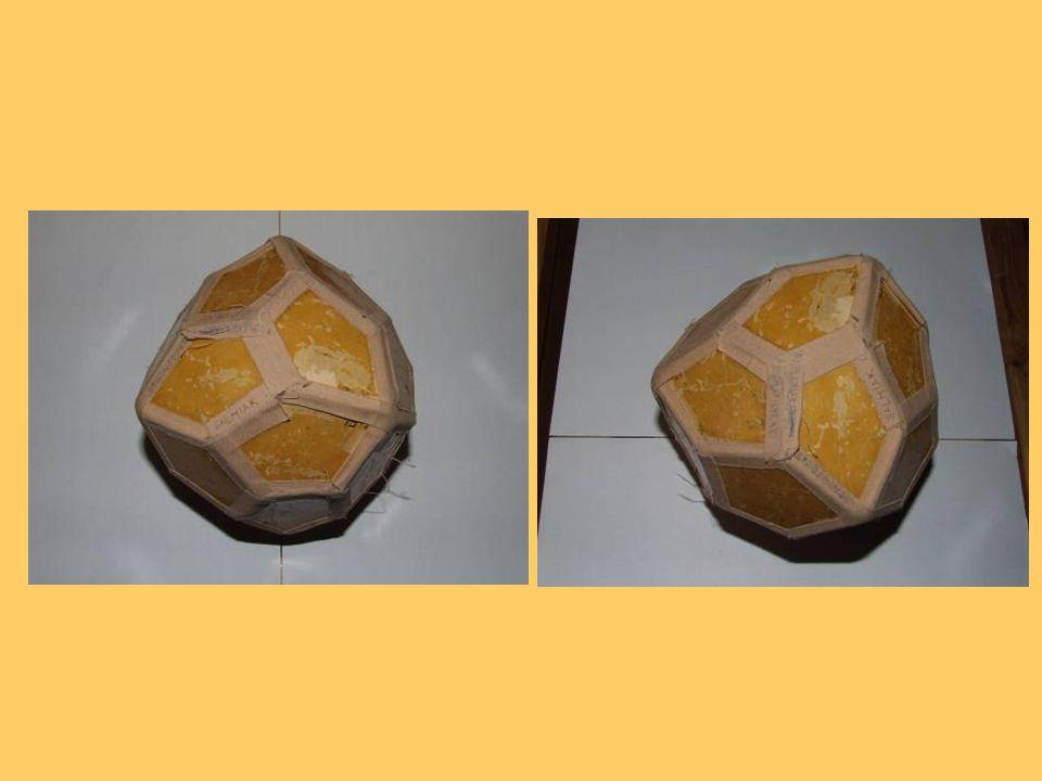 Pyrit – FeS2 Barva: zlatožlutá Vryp: černý Tvrdost: 6 Hustota: 5,1 g/cm³ Lesk: kovový Krystalová soustava: krychlová Pětiúhelníkový 12-stěn (pentagon-dodekaedr) = pyritotvar