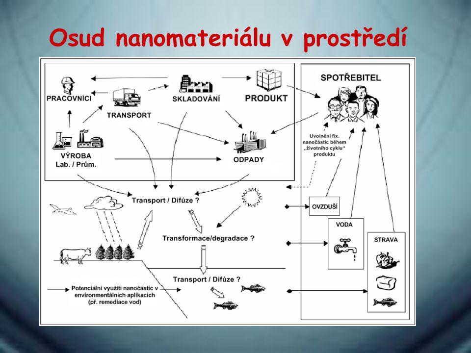 Osud nanomateriálu v prostředí