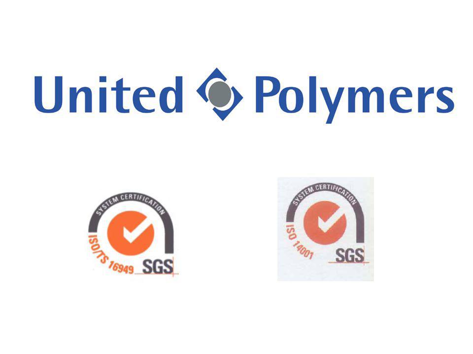  United Polymers s.r.o. je česká firma (100% CZ)