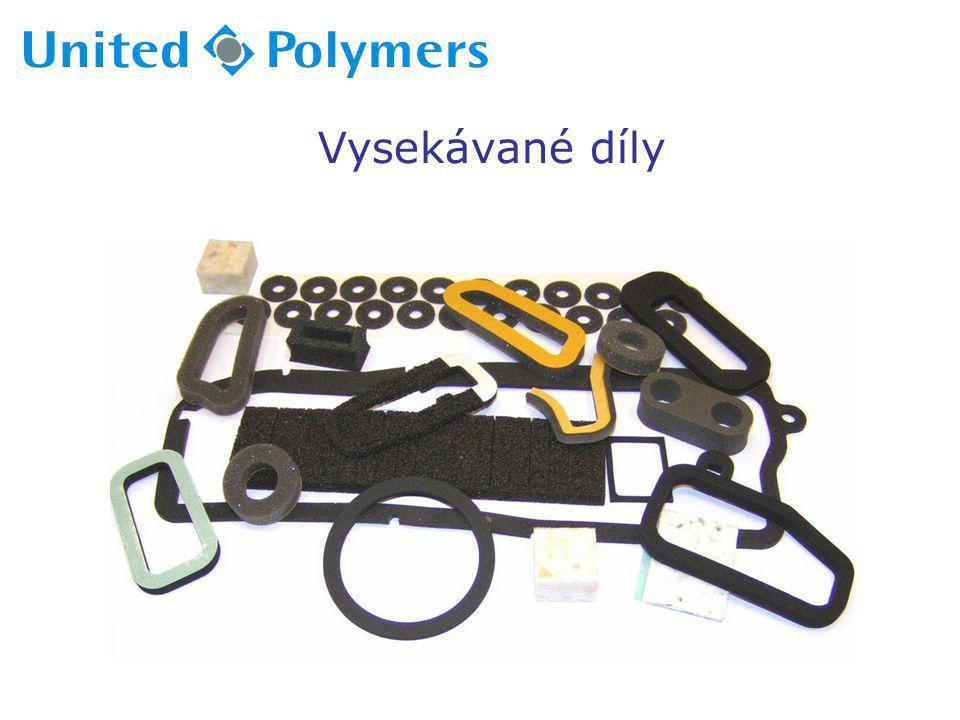 Soustružené řezání-stroje:  2x dvou-vřetenový soustruhy Max-Müller  2x brusky  1x automatický 4-vřetenový řezací stroj Delta  šroubové vytlačovací zařízení Colmec dia 70mm  horkovzdušná, vulkanizační pec