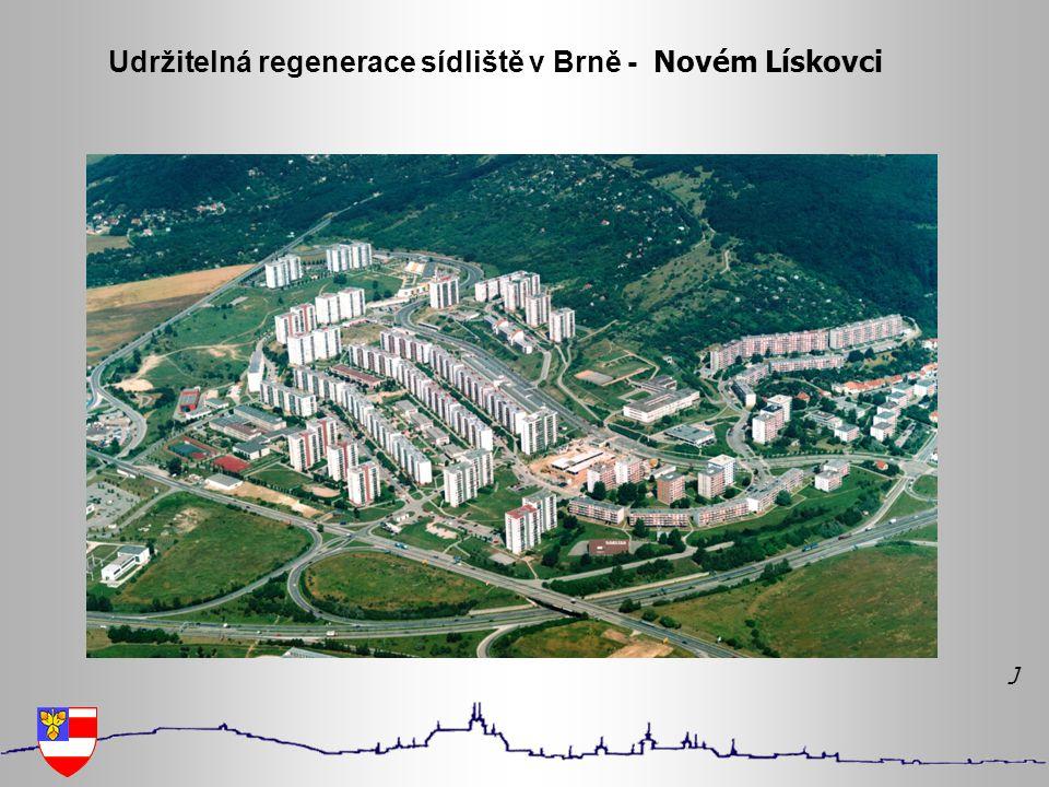 Udržitelná regenerace sídliště v Brně - Novém Lískovci J