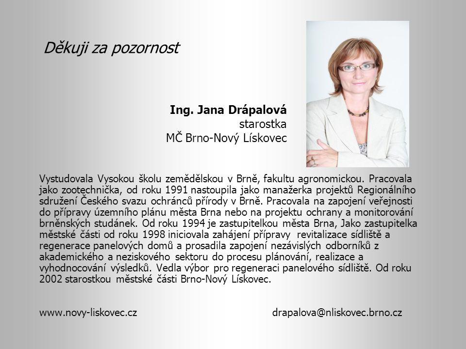 Vystudovala Vysokou školu zemědělskou v Brně, fakultu agronomickou. Pracovala jako zootechnička, od roku 1991 nastoupila jako manažerka projektů Regio