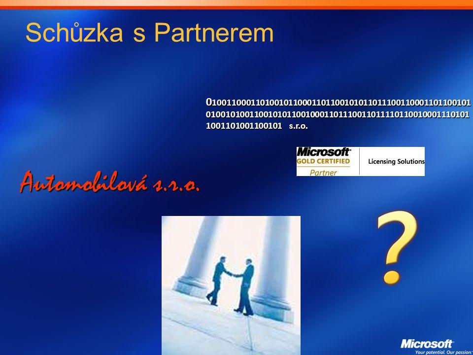 Schůzka s Partnerem Automobilová s.r.o.