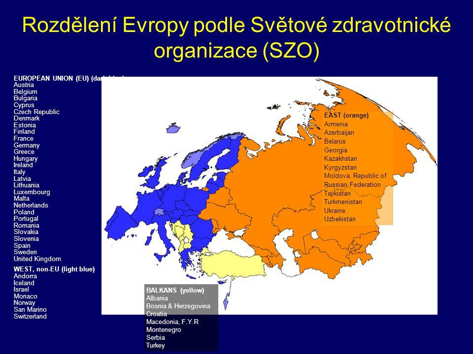 Tuberculosis notification rates (3) Trends, 1995-2005 0 20 40 60 80 100 120 19951996199719981999200020012002200320042005 TB cases/100 000 East European Region Balkans EU-27 EU-25 EU-15