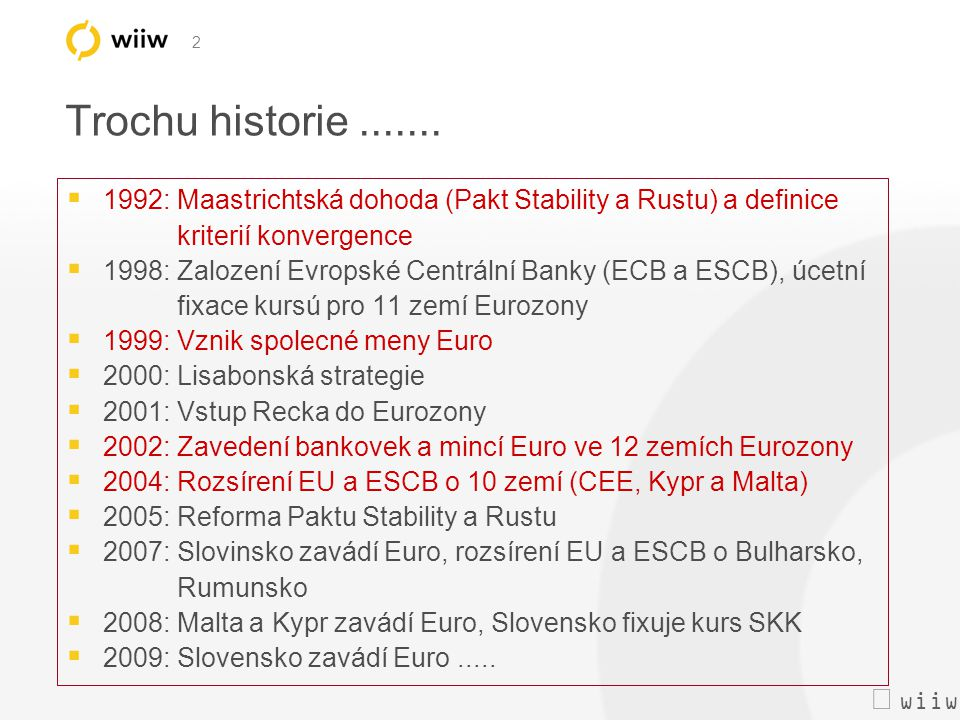  wiiw 3 Hospodárský rust (indexy HDP, 1998=100) Pramen: Eurostat, wiiw