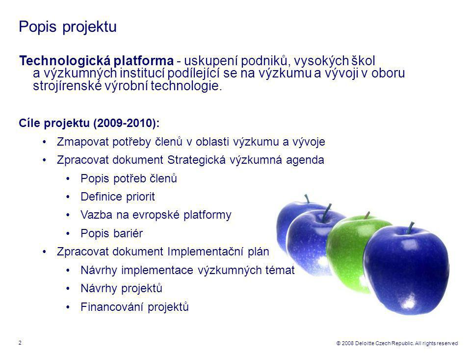 3 © 2008 Deloitte Czech Republic.