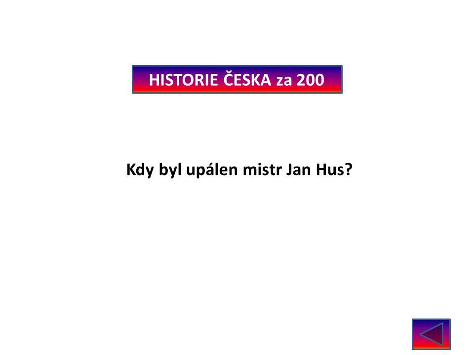 HISTORIE ČESKA za 300 Kdo založil Emauzy? Karel IV.