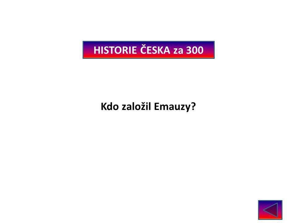 HISTORIE ČESKA za 400 Ve kterém století vymřeli Přemyslovci? V roce 1521 – 16.stol.