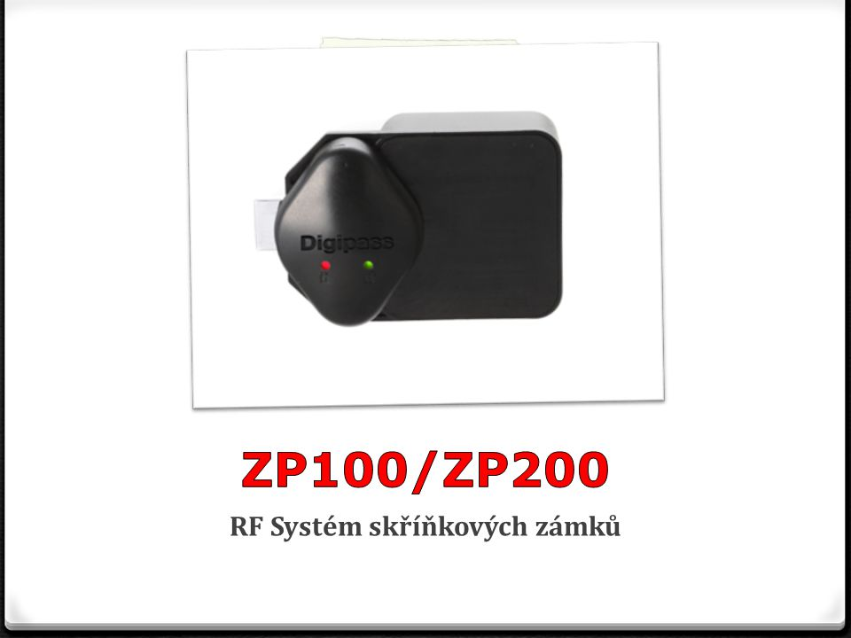 Technická specifikace CPU8-mi bitový microprocesor RF protokol13.56Mhz ISO 14443 Type A (basic) ZabezpečeníUnikátní klíč pro RF zámky a karty Napájení6V z 4 AA baterií, Externí socket pro nahrazení baterie, volitelně externí AC zdroj Operační signalizaceLED(červená/zelená), zvukový signál Sledování historieANO Operační režimyFree-selection – režim volného výběru Pre-assigned – režim pevně přidělené skříňky Multi-lockers/Multi-users režim Matrix režim/Week-day operation režim(volitelný) Zaznamenávání časuInterní RTC (real time clock) RozměryPřední část(na dveřích skříňky): 53,34 x 19,5 x 65,58 mm Zadní část (vně skříňky):98,9 x 34,29 x 70 mm KrytPolykarbonát a ABS Operační teplota-10°C až +70°C Bezpečnostní osvědčeníFCC(USA), CE(Evropa), MIC(Korea), vodotěsné Formát obrazůBMP, JPEG