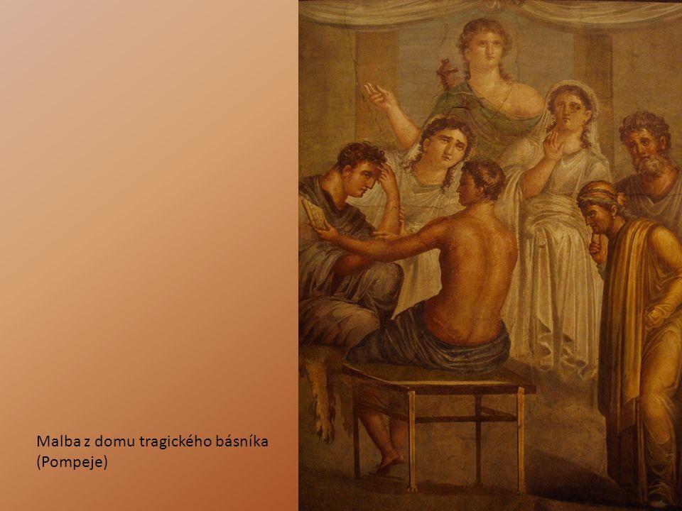 Malba z domu tragického básníka (Pompeje)