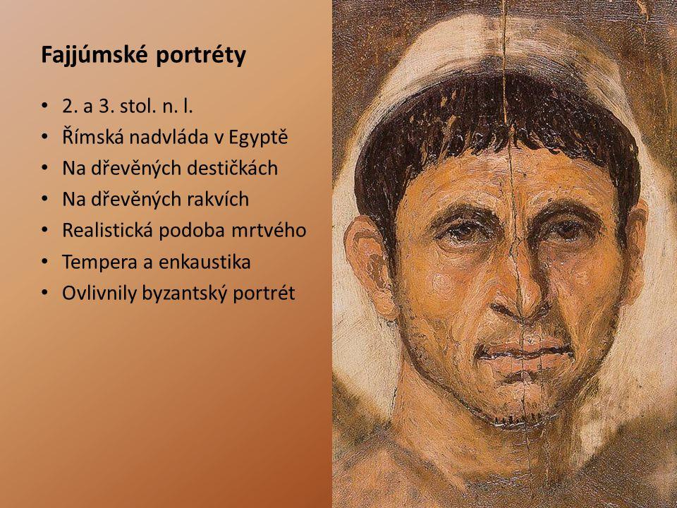 Fajjúmské portréty 2.a 3. stol. n. l.