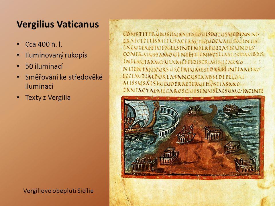 Vergilius Vaticanus Cca 400 n.l.
