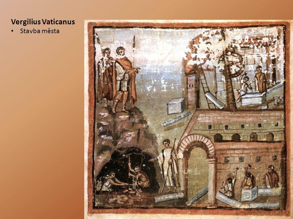 Vergilius Vaticanus Stavba města
