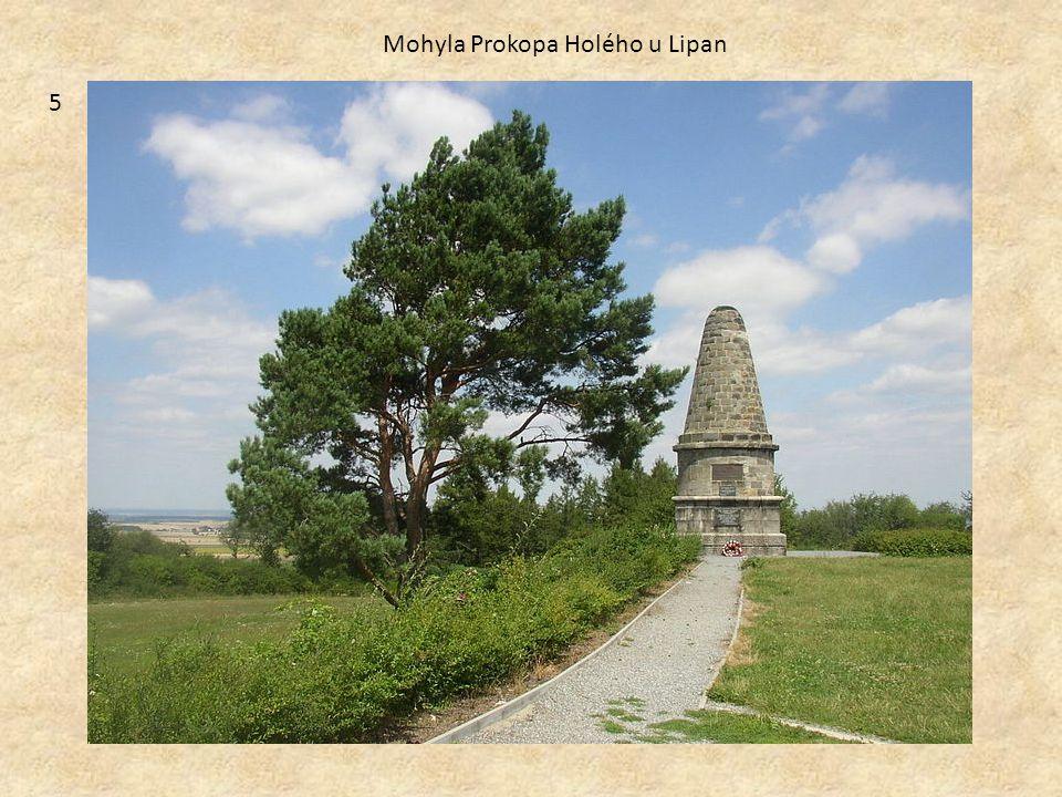 5 Mohyla Prokopa Holého u Lipan