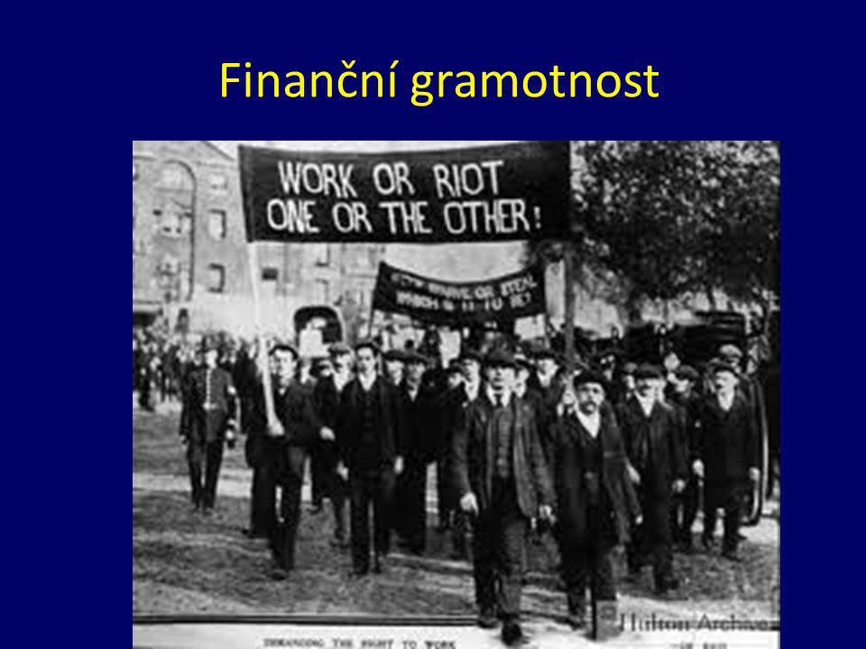 Finanční negramotnost stojí peníze