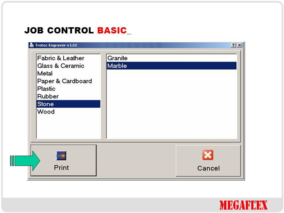 PŘÍPRAVA GRAFIKY TISK JOB CONTROL BASIC_