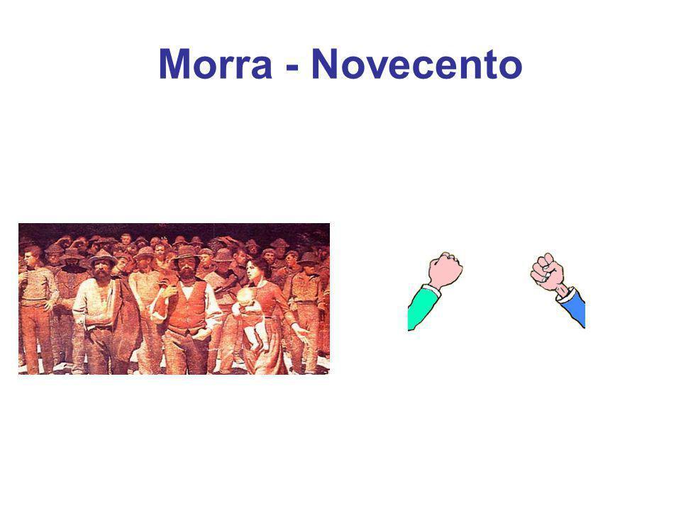 Morra - Novecento