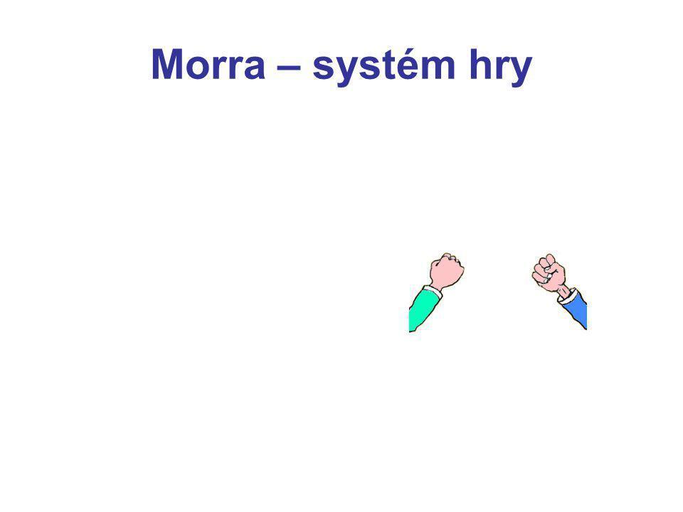 Morra – systém hry