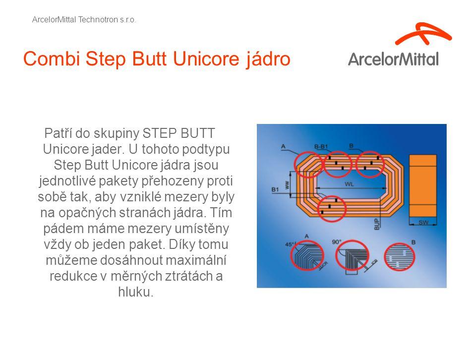 Combi Step Butt Unicore jádro Patří do skupiny STEP BUTT Unicore jader.