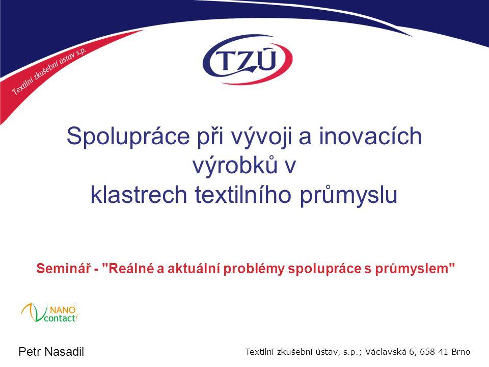 Organizační struktura TZU MPO ÚNMZ TZÚ AZLCTN SRC TEOCOVCOS ČIA DR CHZ FZZ