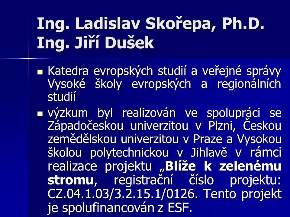 Ing. Ladislav Skořepa, Ph.D. Ing.