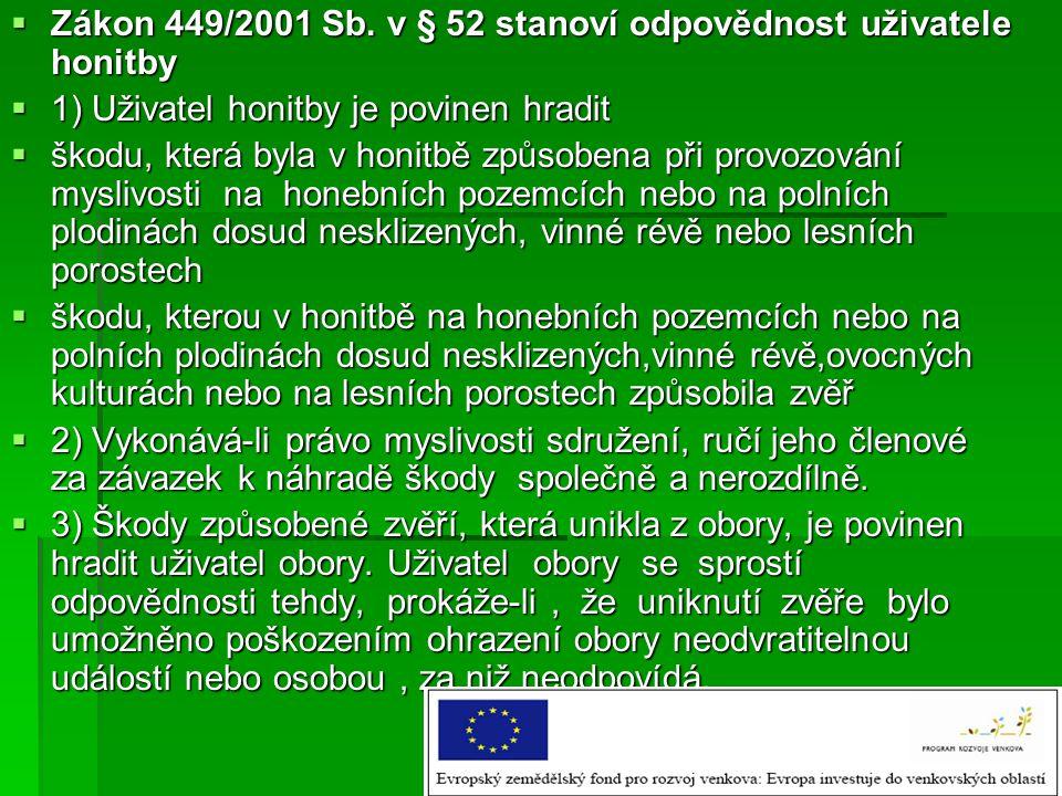  Zákon 449/2001 Sb.