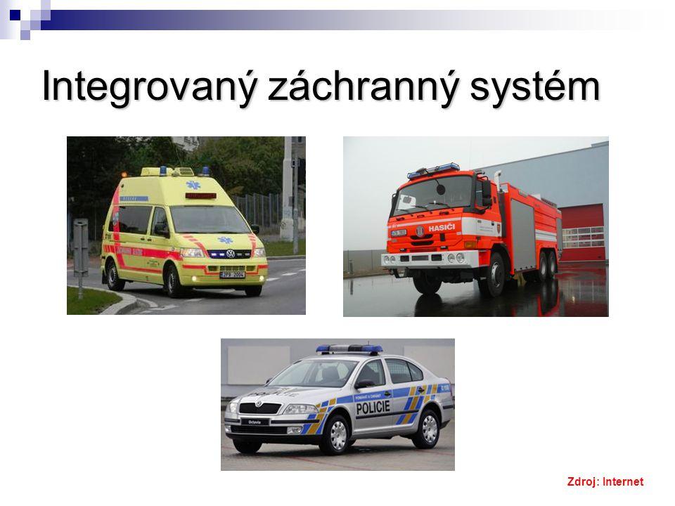 Integrovaný záchranný systém Zdroj: Internet