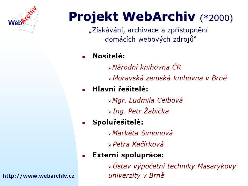 http://www.webarchiv.cz