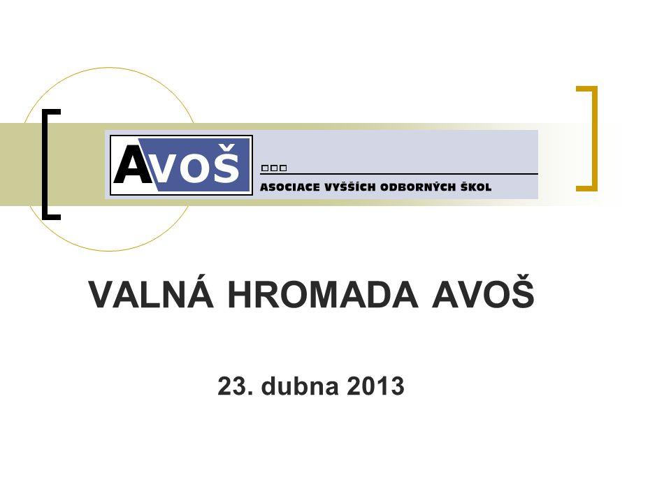 VALNÁ HROMADA AVOŠ 23. dubna 2013
