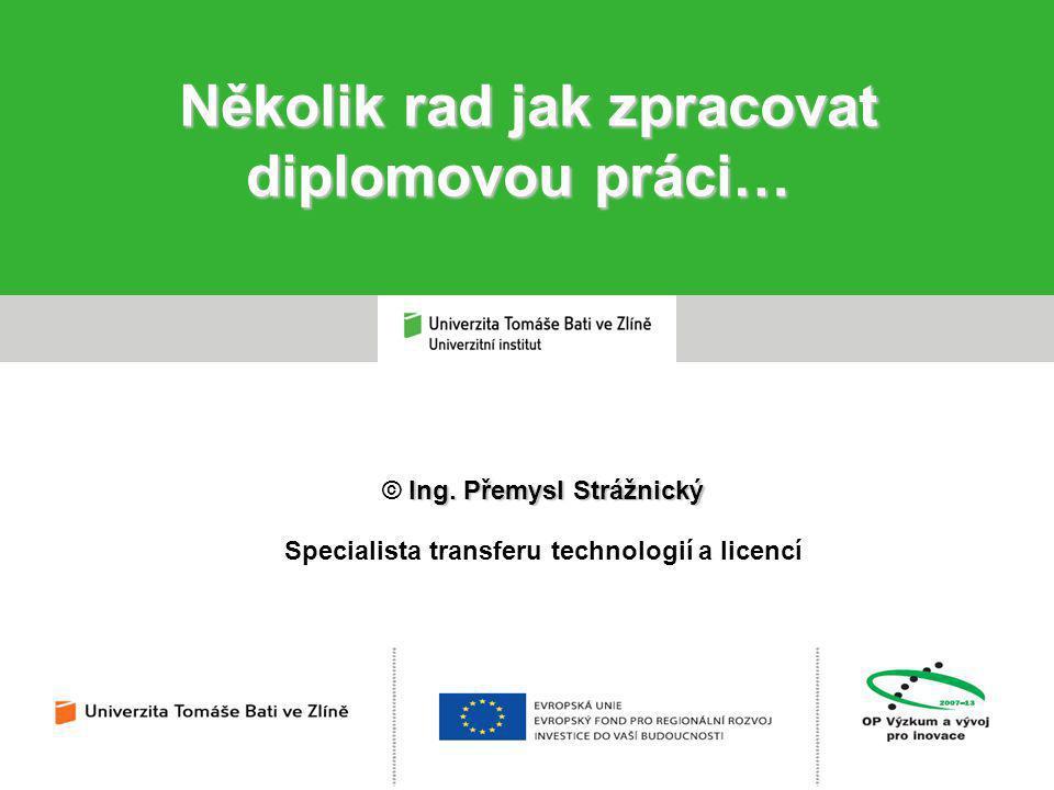 Ing.Přemysl Strážnický © Ing.