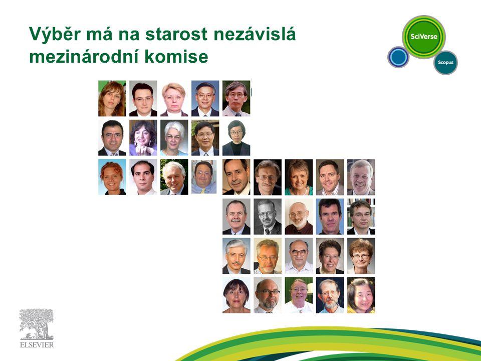 Výběr má na starost nezávislá mezinárodní komise