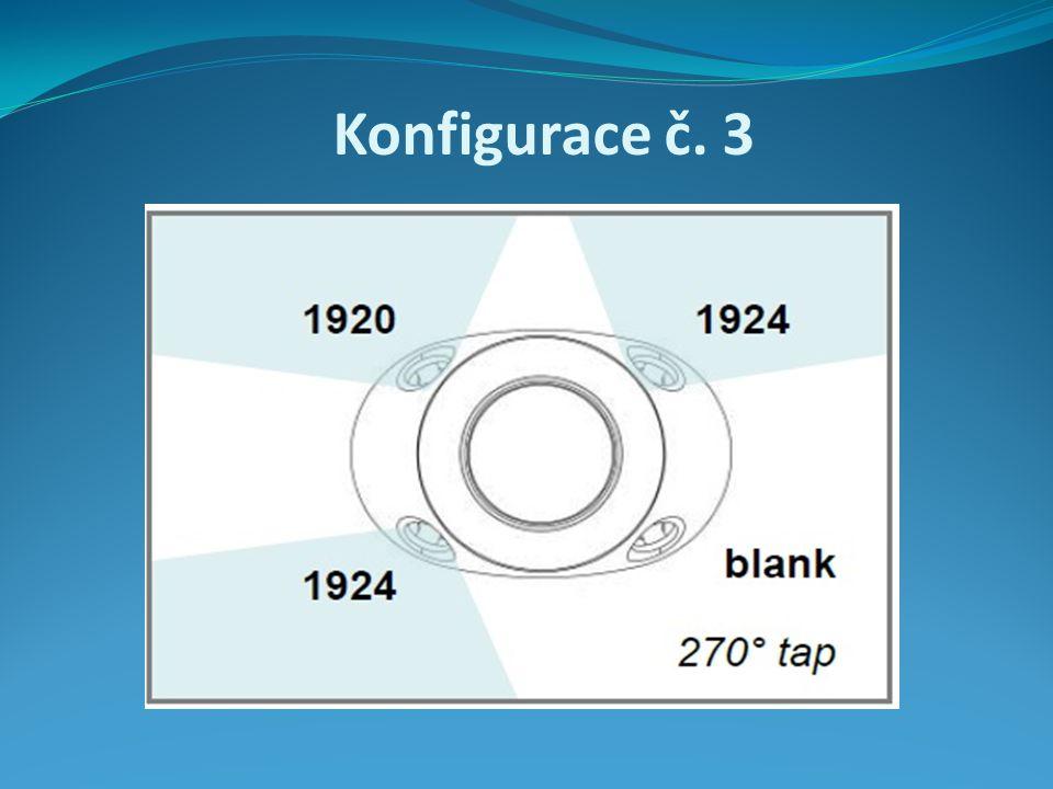 Konfigurace č. 3