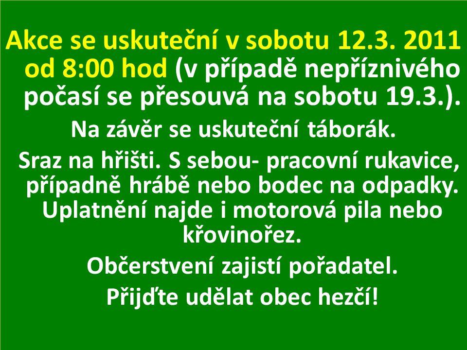 MUDr.Šultes oznamuje, že v pátek 11. 3. 2011 nebude ordinovat.